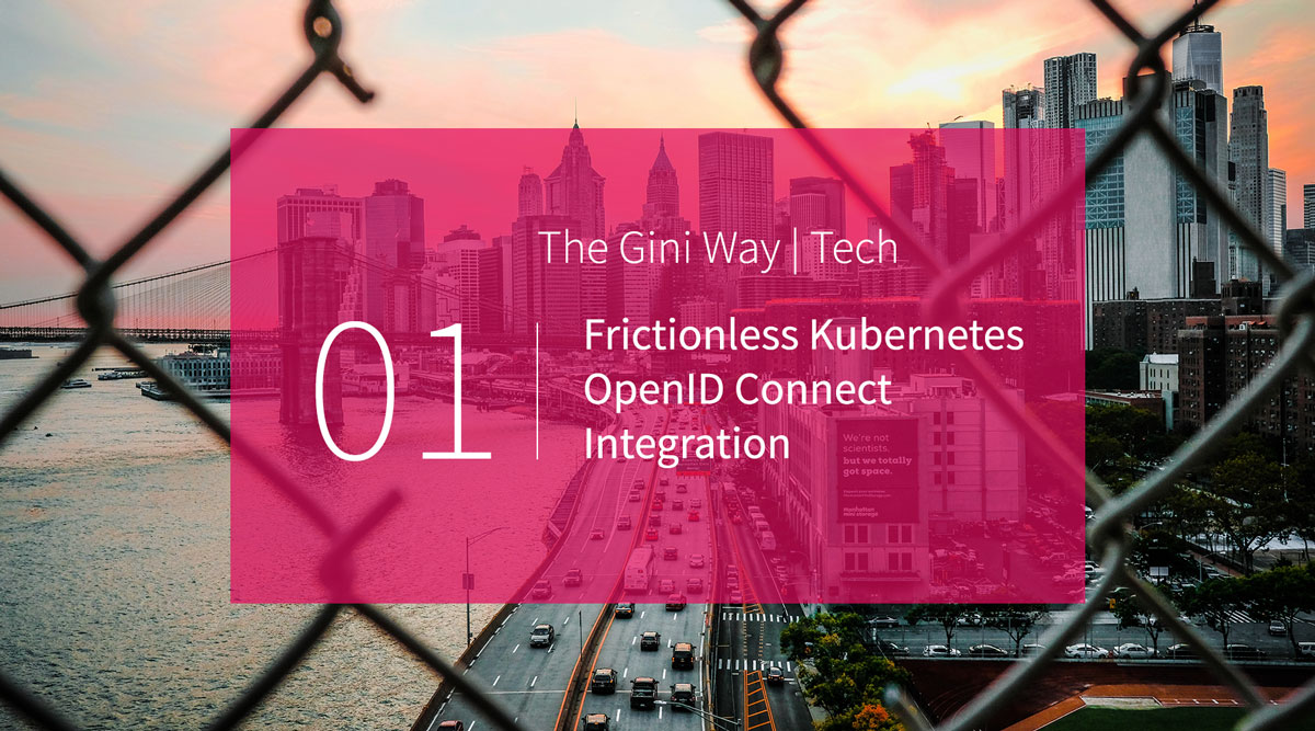 Frictionless Kubernetes OpenID Connect Integration Header