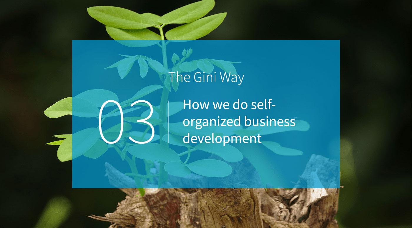 Wie wir selbstorganisiertes Business Development betreiben