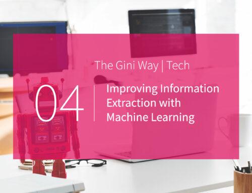 Verbesserte Informationsextraktion mit Machine Learning