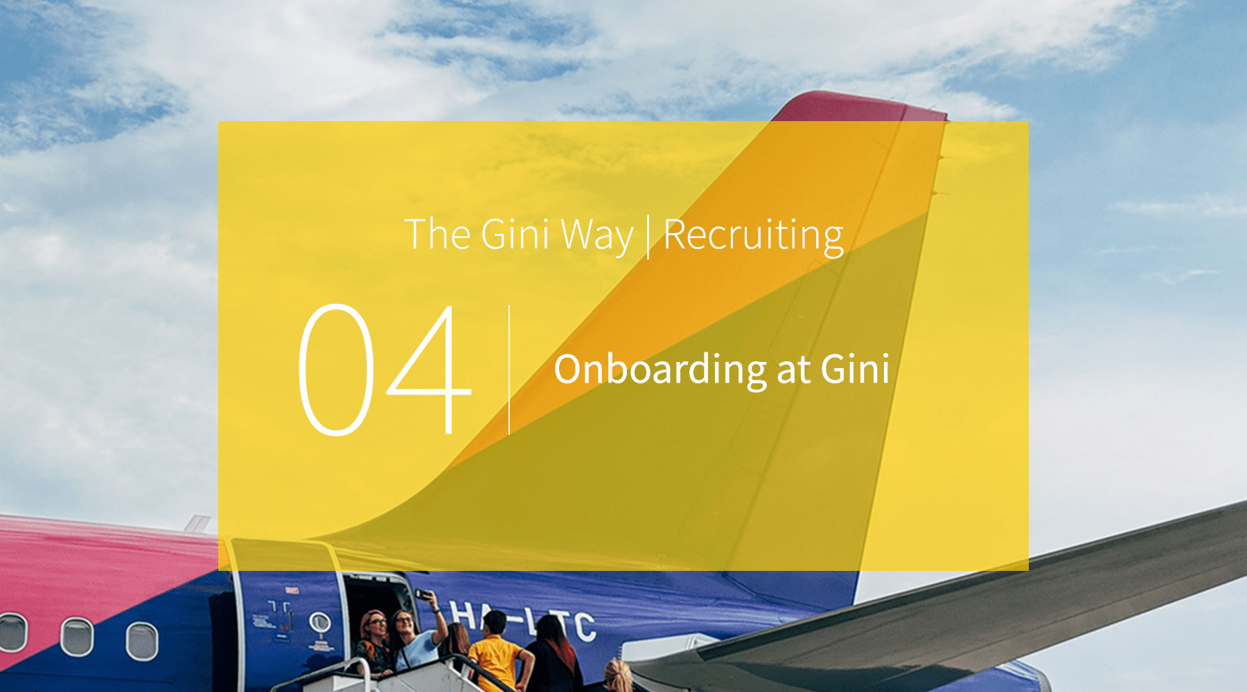 Onboarding at Gini