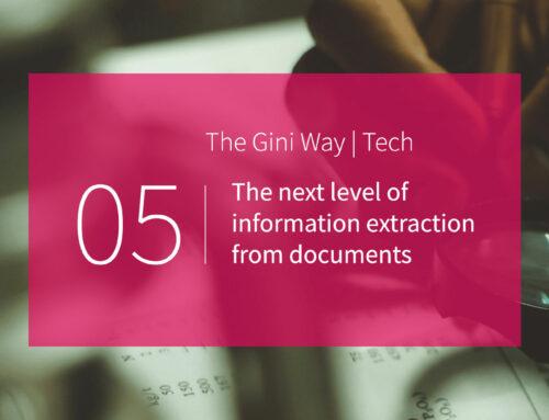 Das nächste Level der Informationsextraktion aus Dokumenten